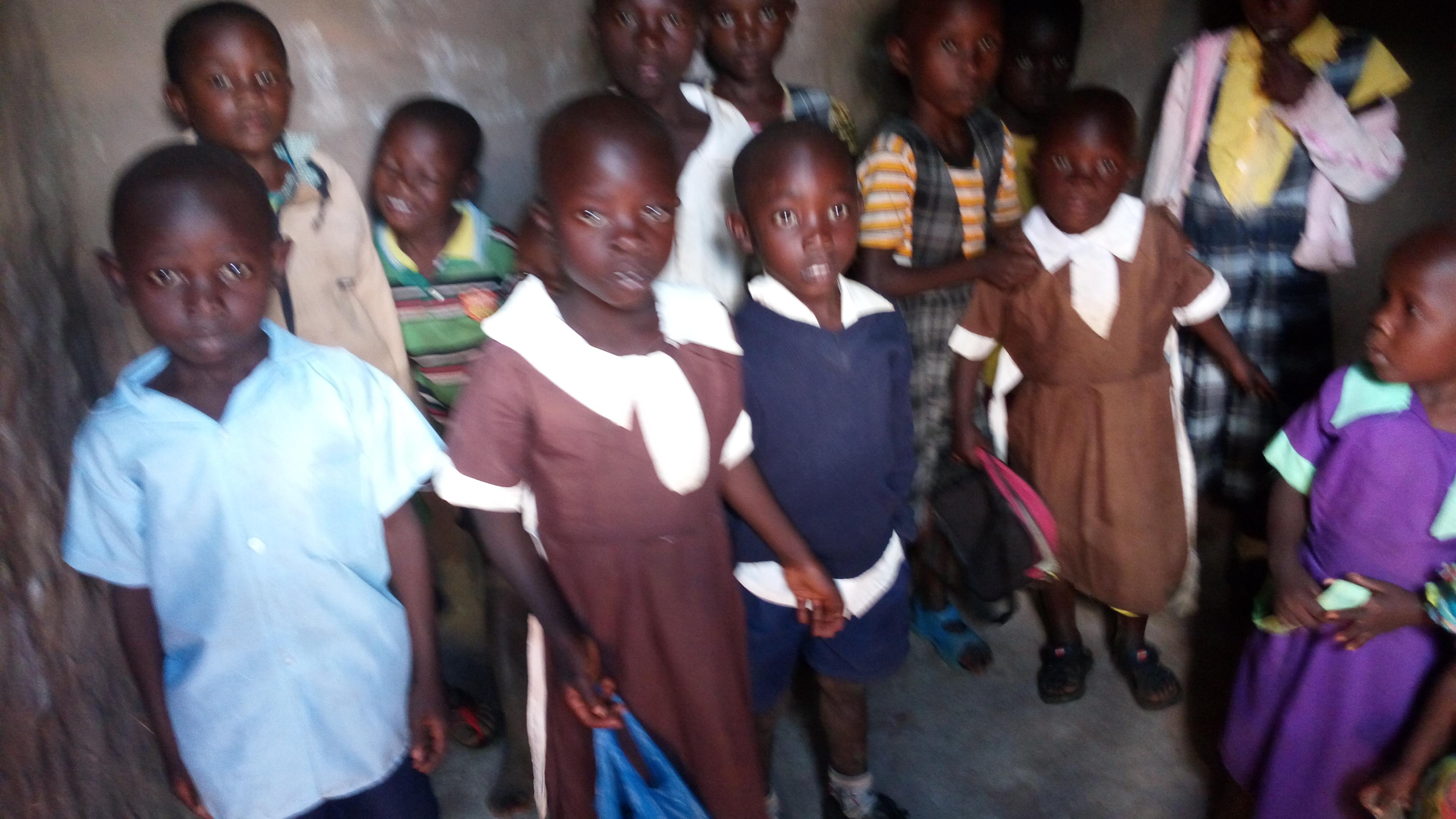KAMUKUYWA MISSION School Children