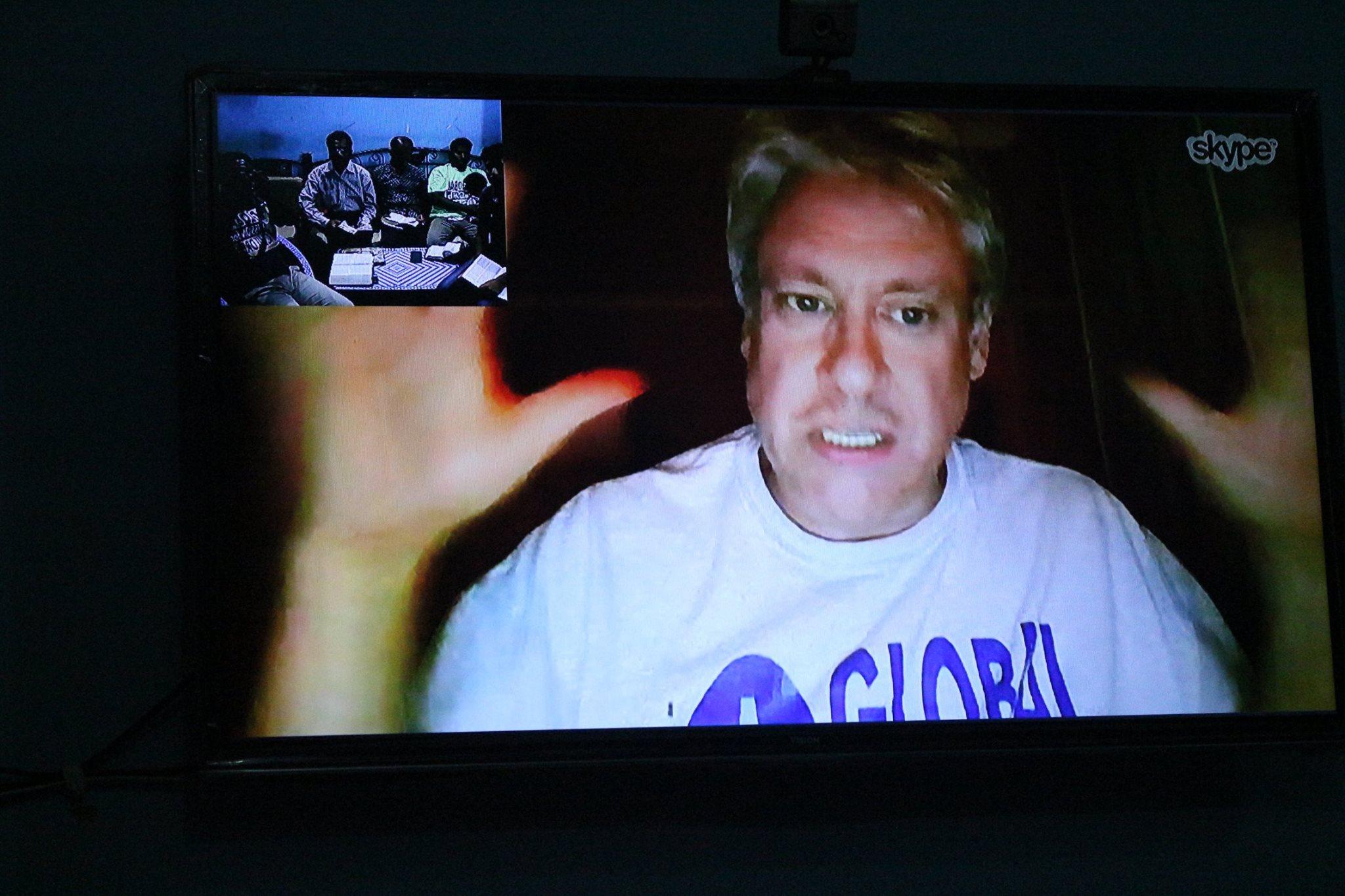 Jimmy teaching GMFC Bangladesh