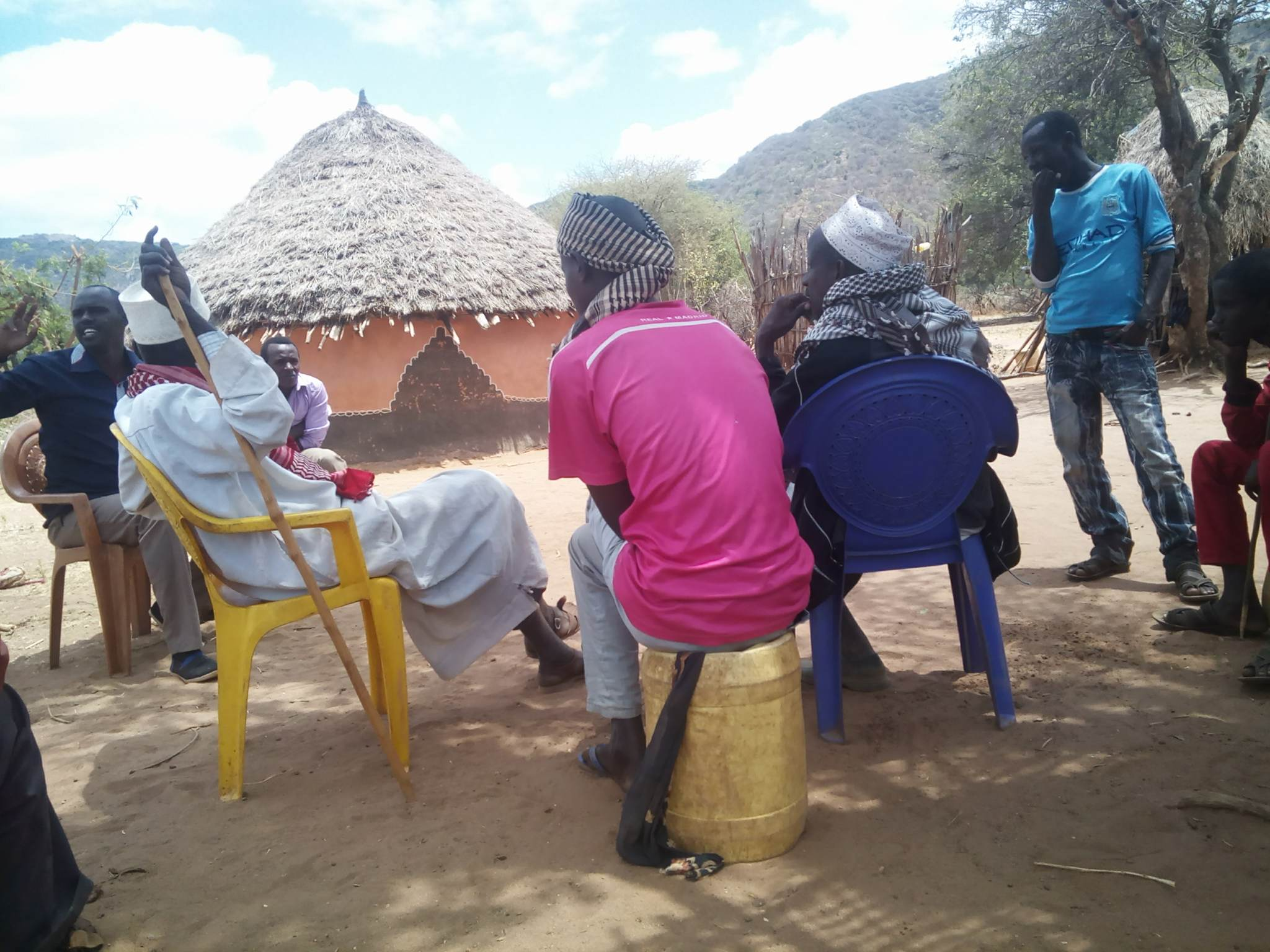 brother Joshua witnessing muslims gmfc Kenya