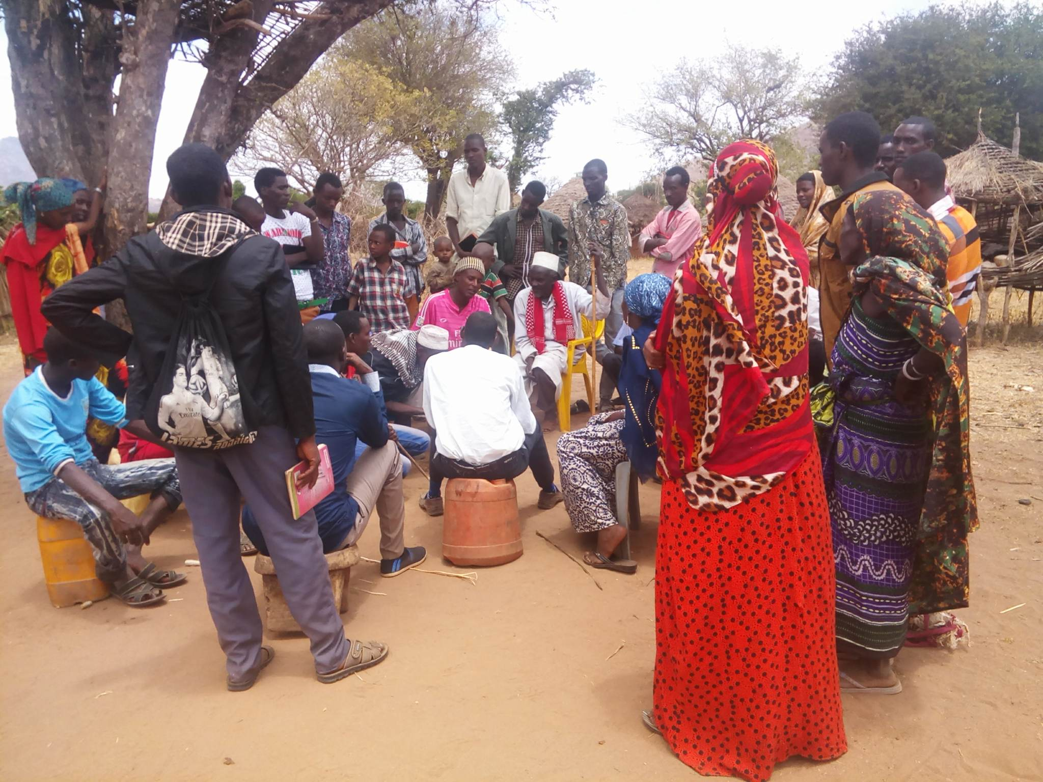 brother William witnessing muslims gmfc Kenya 2