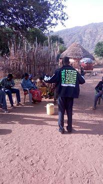 brother William witnessing muslims gmfc Kenya jacket