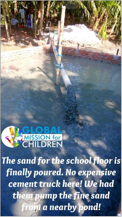 school sand