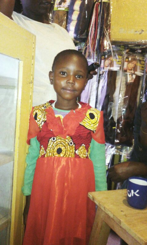 Dorothy Nthemba age 6 grade 1 mother only 1st born in 3 children-be Nurse Female