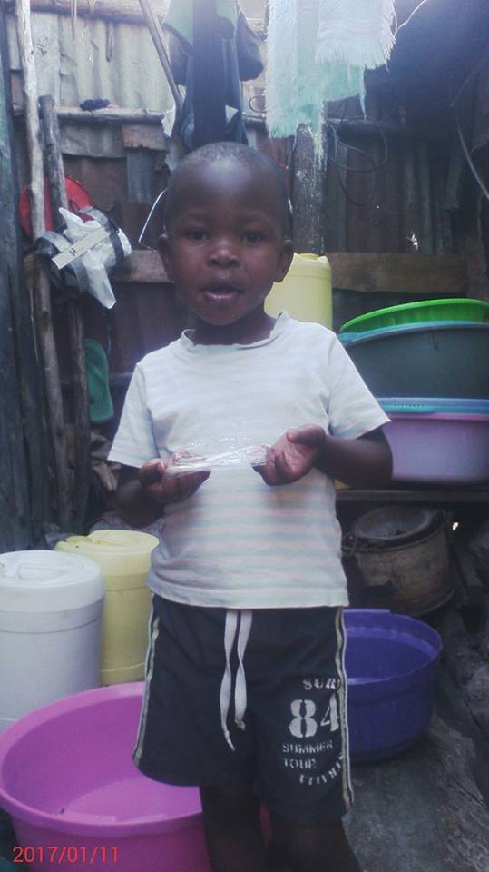 Rachel Obuya age 3 years Female grade baby class 5th in 6 children have mother wants Nurse