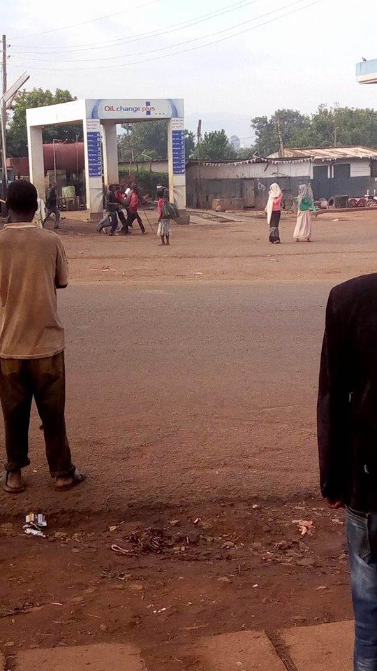 Carrying deceased GMFC Moyale Kenya