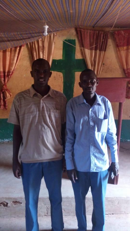 William and Joshua in Moyale Kenya