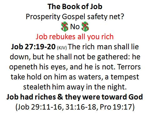 job riches prosperity wof poverty poor