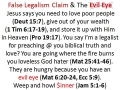 poor love legalism poverty