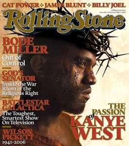 rolling stone kanye cover mocking jesus
