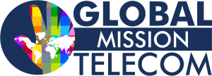 global TELECOM ilght background