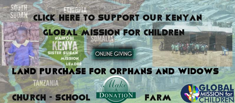 Global Mission for Children School Nairobi Kenya Church Donate Africa