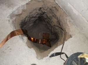 salt copper anground antenna