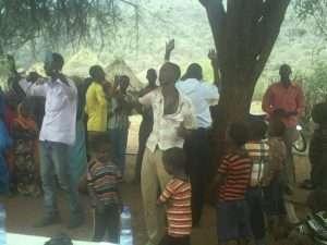 Worshiping at the Church Under a Tree