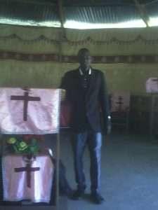 William Preaching
