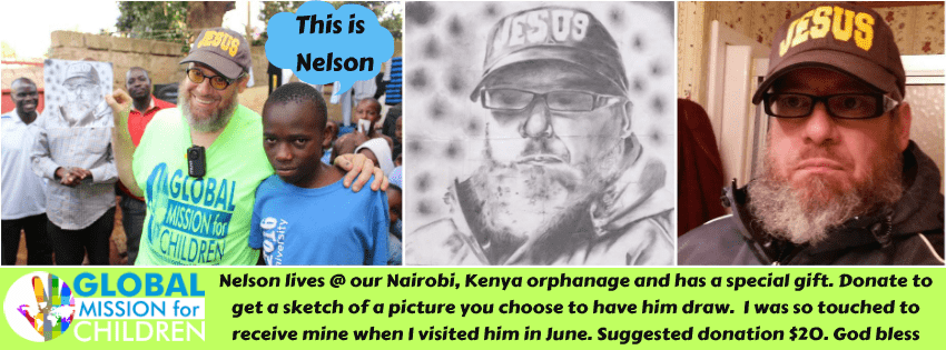 Jimmy Nelson the Artist GMFC Nairobu Kenya Post Banner